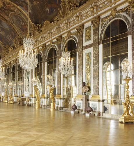 ヴェルサイユ宮殿「鏡の間」
