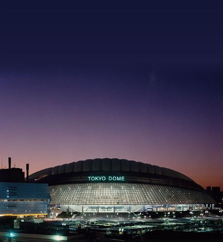 東京ドームの建築膜材料