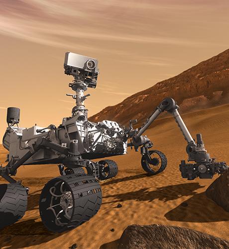 火星探査機「キュリオシティ」