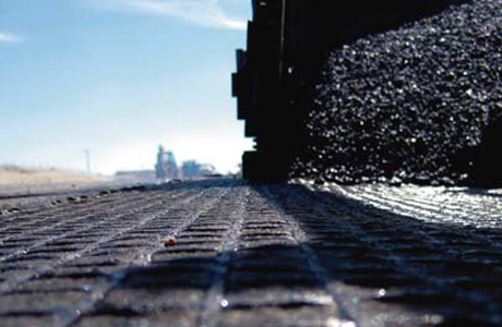 GlasGrid® paving reinforcement from Saint-Gobain Adfors protects asphalt roads, airport runways and bridges from cracks.