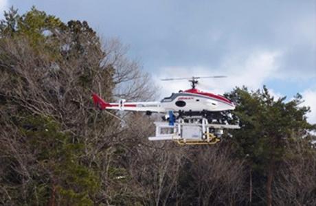 シンチレーション検出器搭載無人小型ヘリコプター